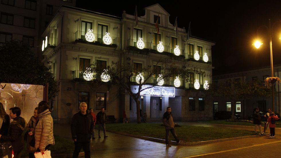 NAVIDAD EN CELANOVA.Iluminación navideña en O Barco de Valdeorras