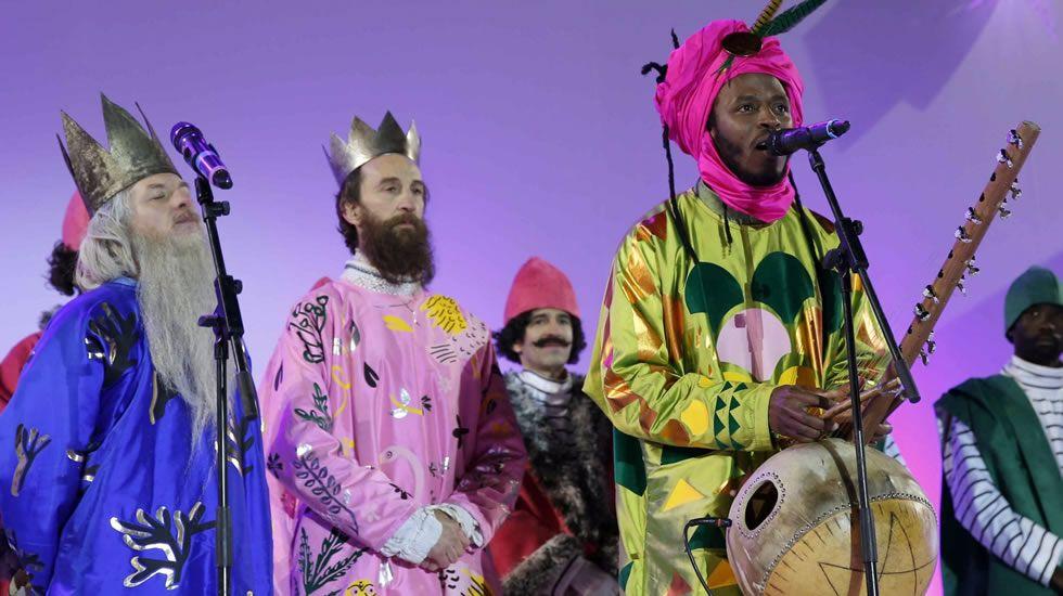 Cabalgata reyes magos .Los Reyes Magos en Avilés