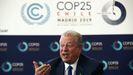Al Gore, durante la cumbre