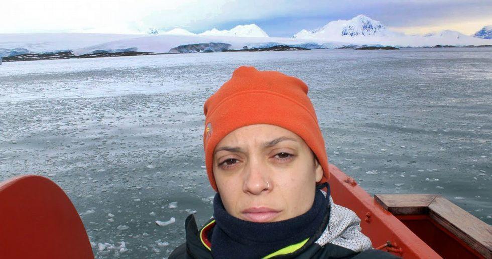 El deshielo ha generado casi 8.000 lagos en la superficie de la Antártida.Lluvia en Oviedo