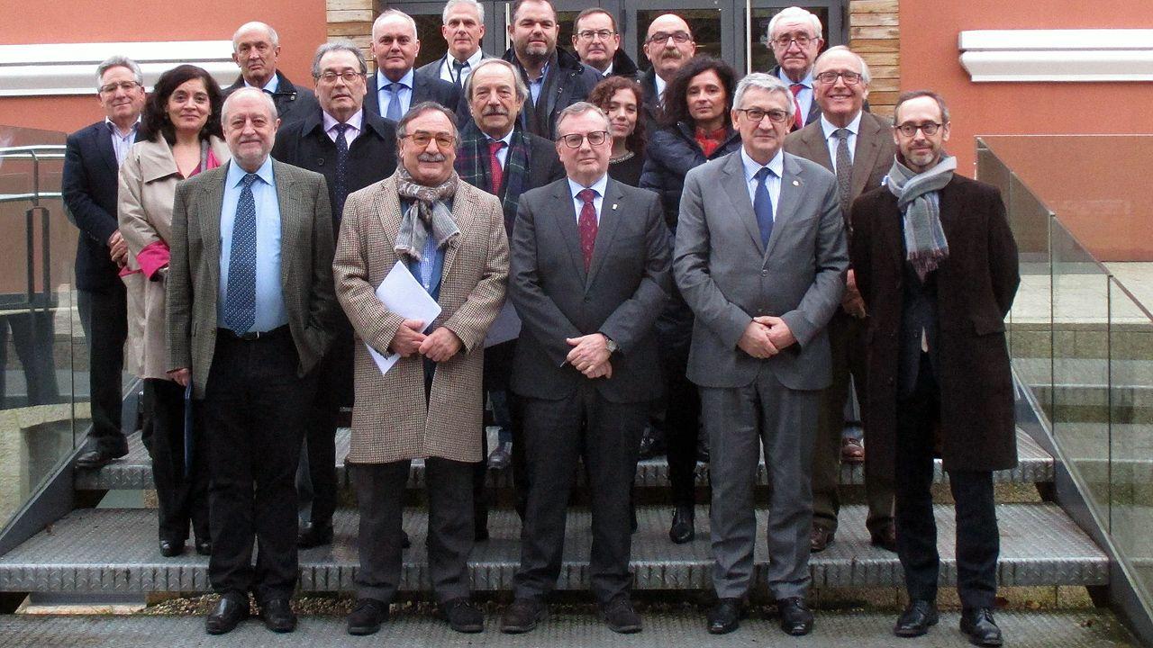 Integrantes del patronato de la Fundación para la Investigación y la Innovación Biosanitaria en Asturias (FINBA).Integrantes del patronato de la Fundación para la Investigación y la Innovación Biosanitaria en Asturias (FINBA)