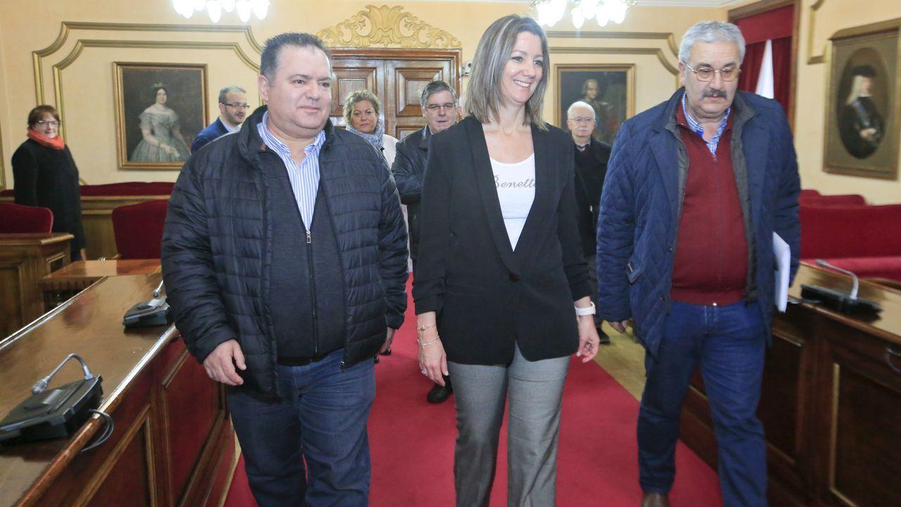 Así serán las caldas de Lugo.Ganadores del último concurso de tapas de Lugo y que podrían acudir a la fase final de Madrid