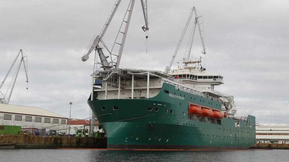 Tras terminar el flotel de Pemex, el astillero se quedó sin tarea.