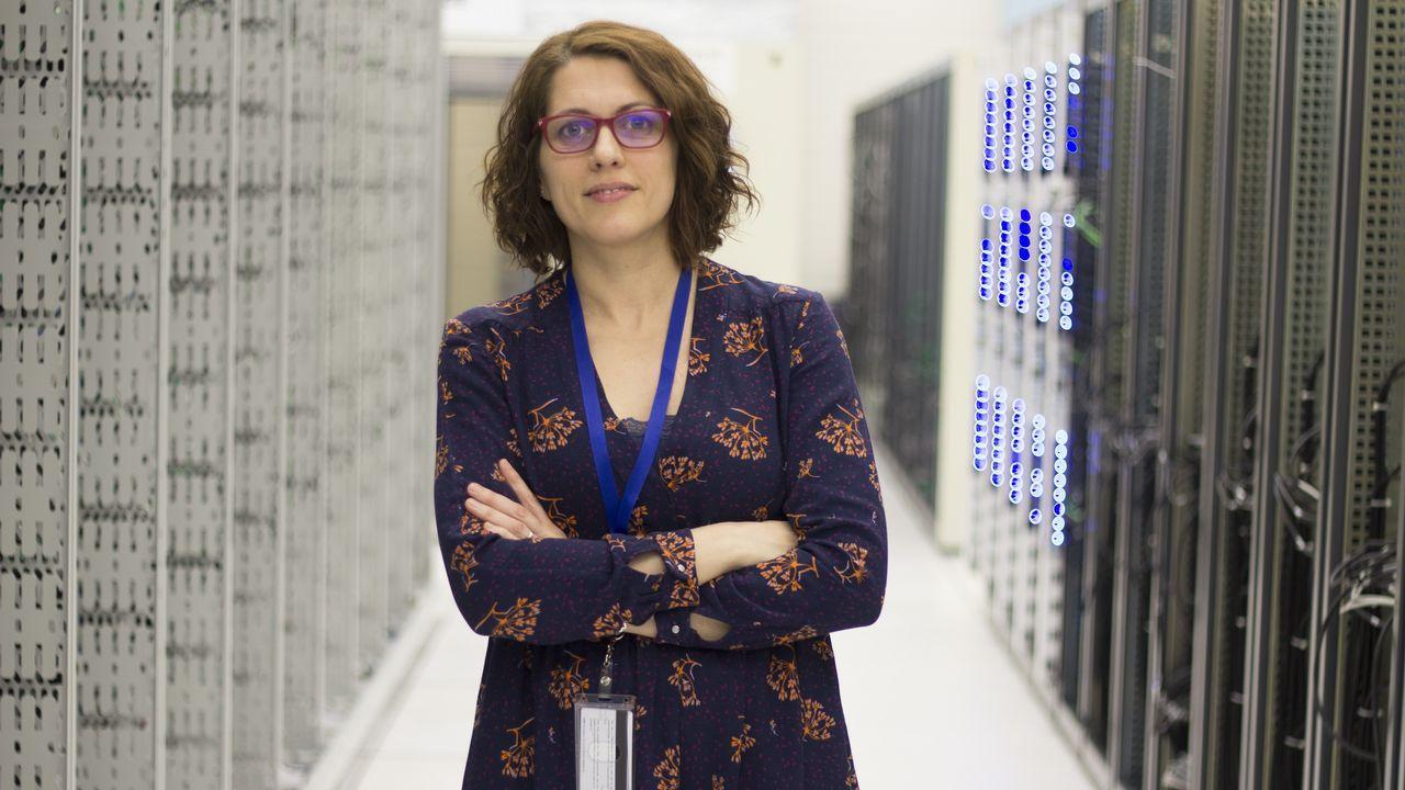 Eva Dafonte es la subdirectora del Servicio de Bases de Datos