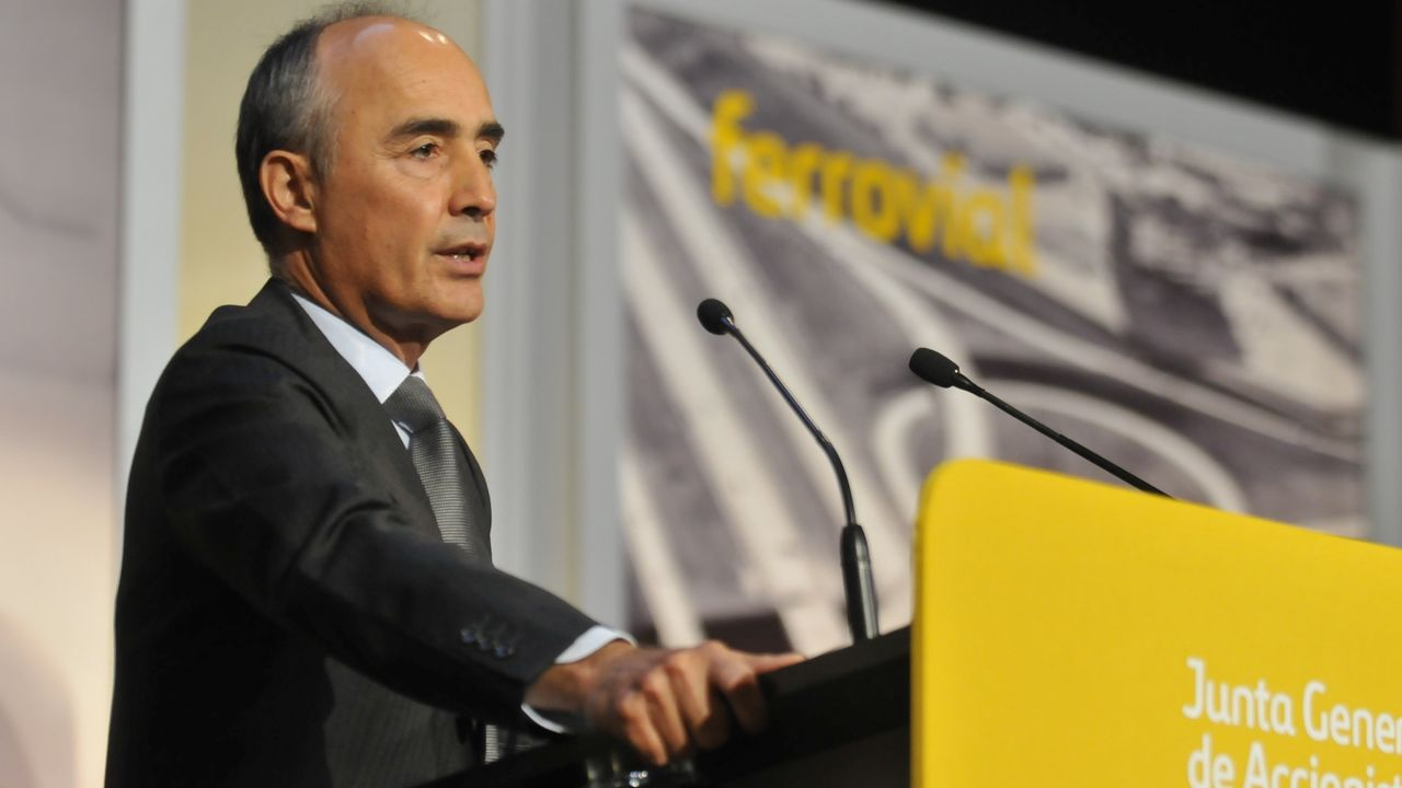 sandra ortega.Rafael del Pino, presidente de Ferrovial y muy vinculado a Ribadeo