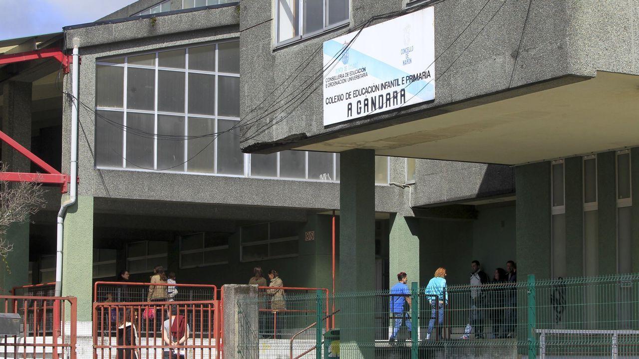 El CEIP de A Gándara, en foto de archivo, es uno de los más afectados