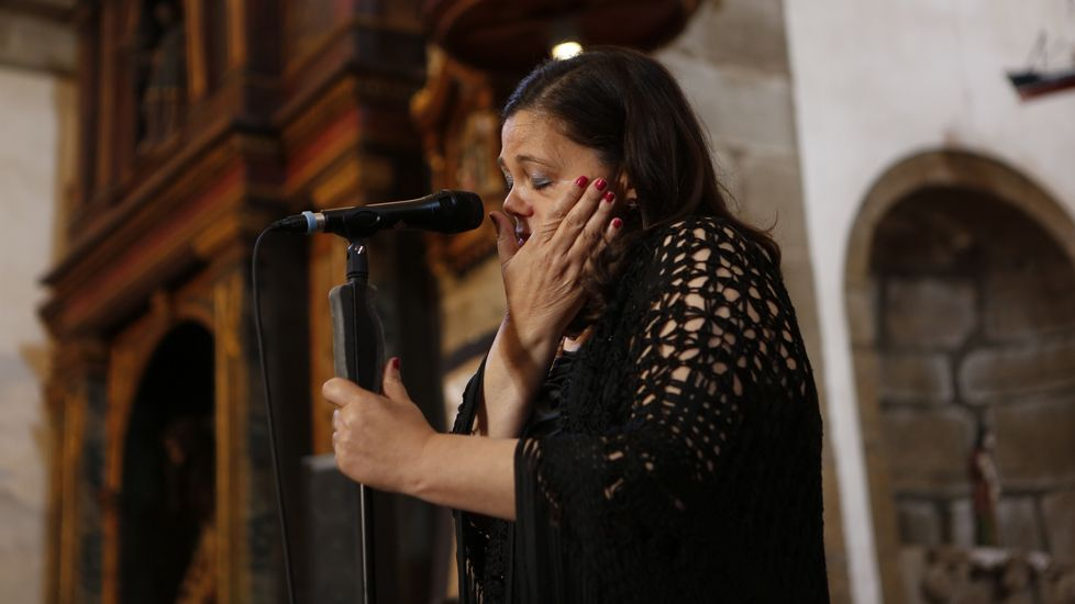 El concierto muxián de María do Ceo, en imágenes