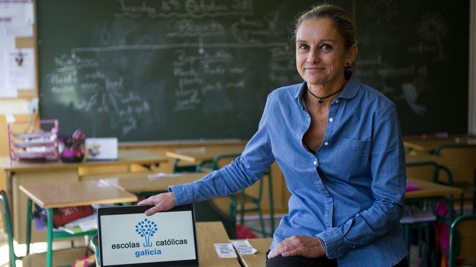 Juana Otero, secretaria autonómica de Escolas Católicas