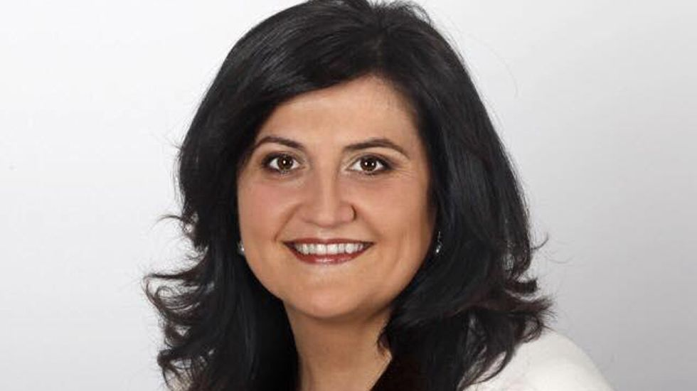 Amelia Fernández, alcaldesa de Carreño.Amelia Fernández, alcaldesa de Carreño