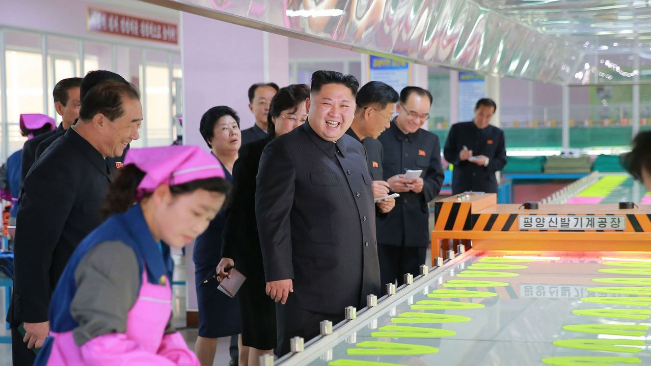 En imágenes: así está siendo el viaje de Donald Trump en Extremo Oriente.Kim Jong-un