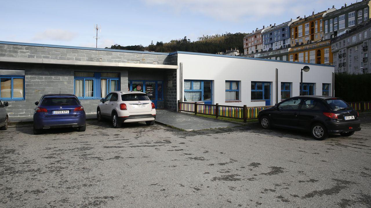 Primer día con nivel extremo en Viveiro por covid.La escuela infantil de Viveiro permanece cerrada