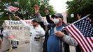 La protesta en la capital de Texas, Austin, fue una de las más multitudinarias