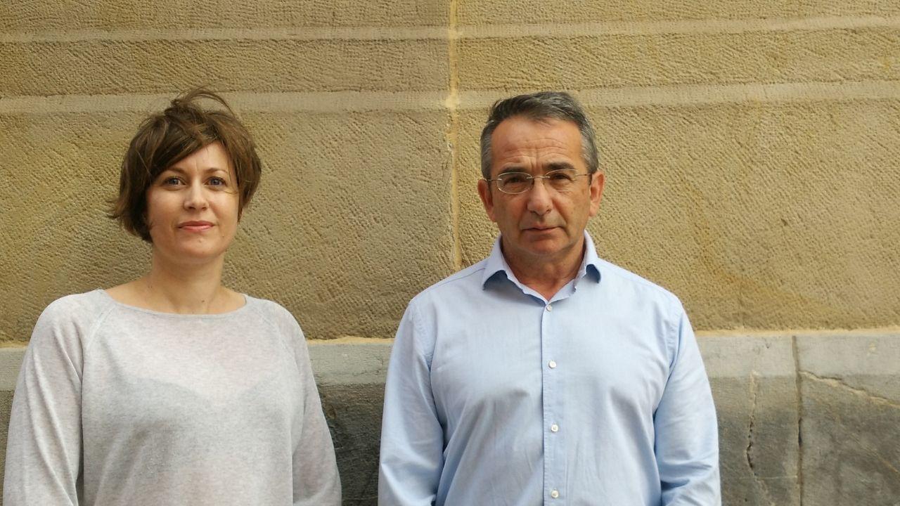 Cristina Linares Gil y Julio Díaz Jiménez, científicos y expertos en epidemiología de la Escuela Nacional de Sanidad, ayer, en Gijón