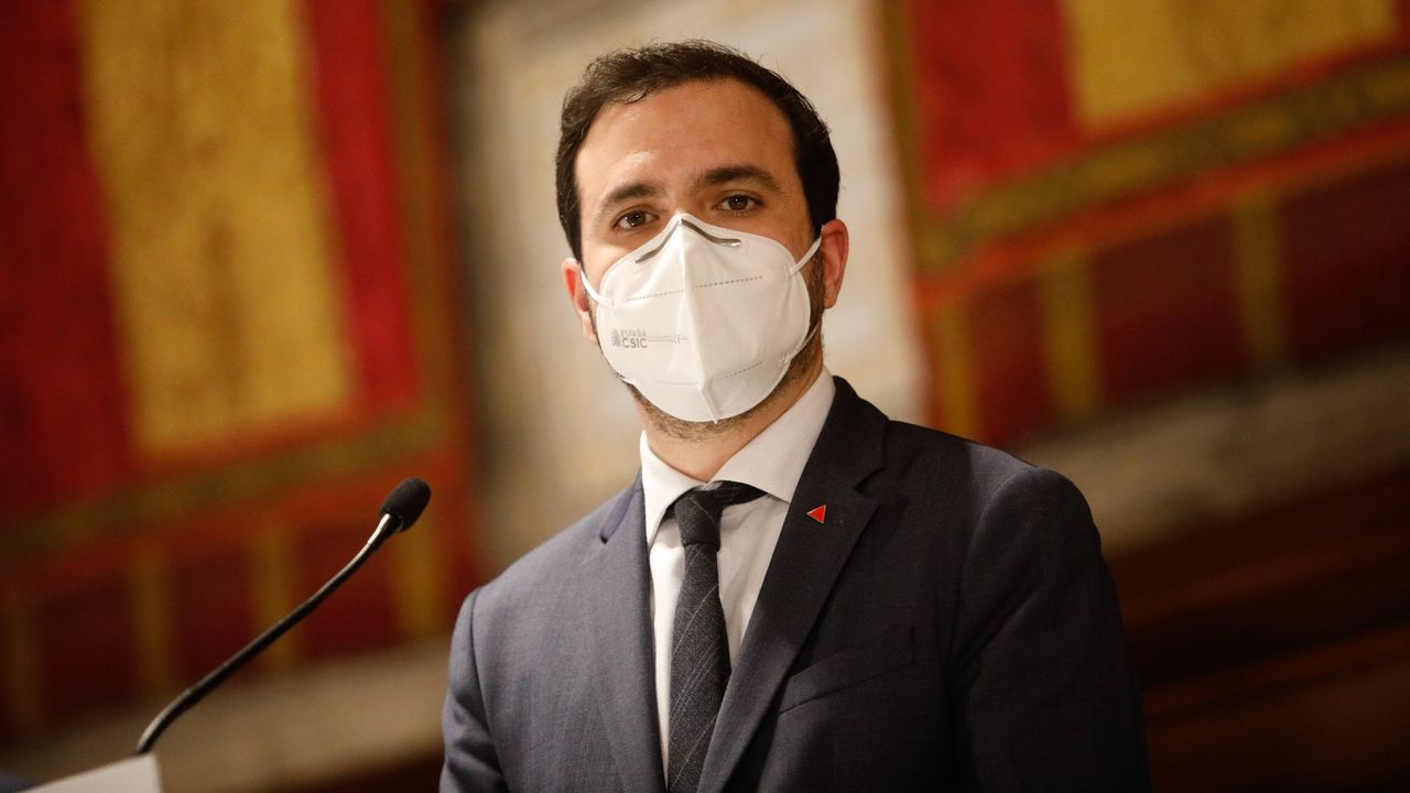 El «proponido» del ministro Alberto Garzón.Antonio Costa, primer ministro de Portugal