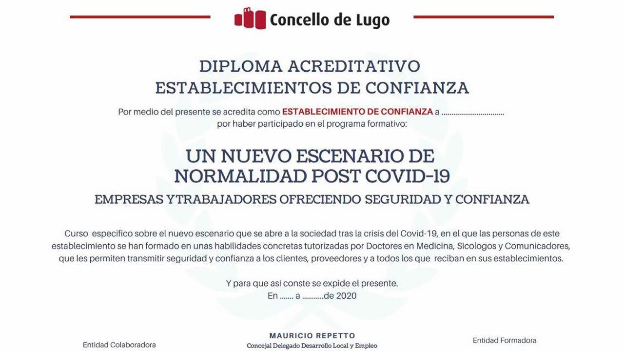Presentación en los jardines de la Diputación con autoridades y empresarios