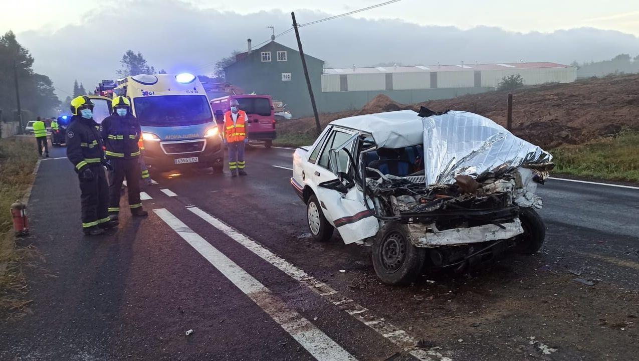 Estado en el que quedó el vehículo que conducía el fallecido