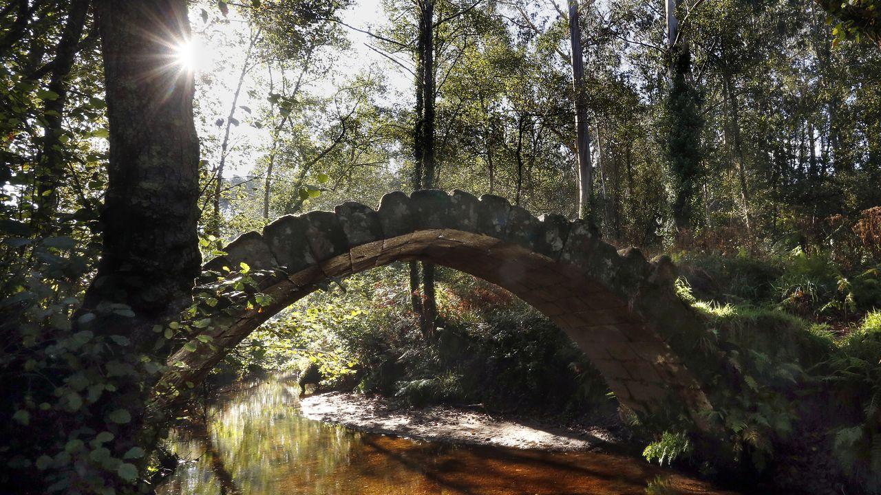 De puente a puente en Barbanza, Muros y Noia.César Bugallo