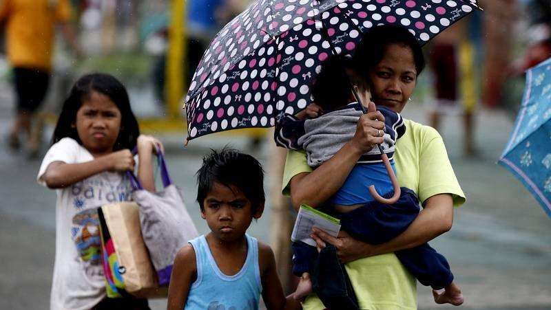 Visita a Filipinas pasada por agua.Inundaciones en Filipinas