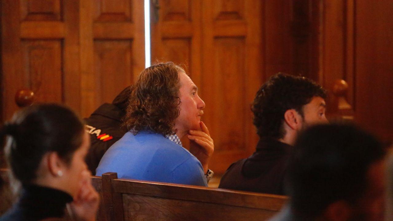 Miñanco, durante una de las sesiones del juicio