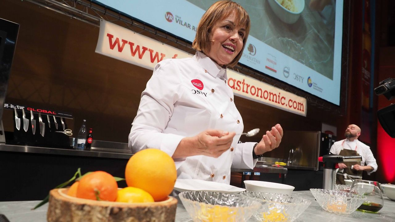 María José San Román (Monastrell - Alicante): «Sigo viendo aceite refinado en las cocinas de los restaurantes por desconocimiento de los chefs»