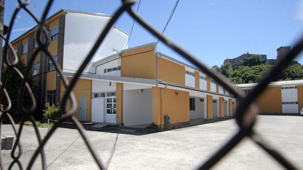 El nuevo punto de vacunación de Monforte está en el antiguo colegio Sagrado Corazón, frente a la estación de autobuses