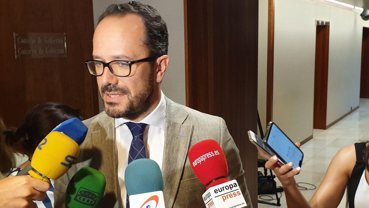 El diputado de Vox en la Junta General del Principado, Ignacio Blanco