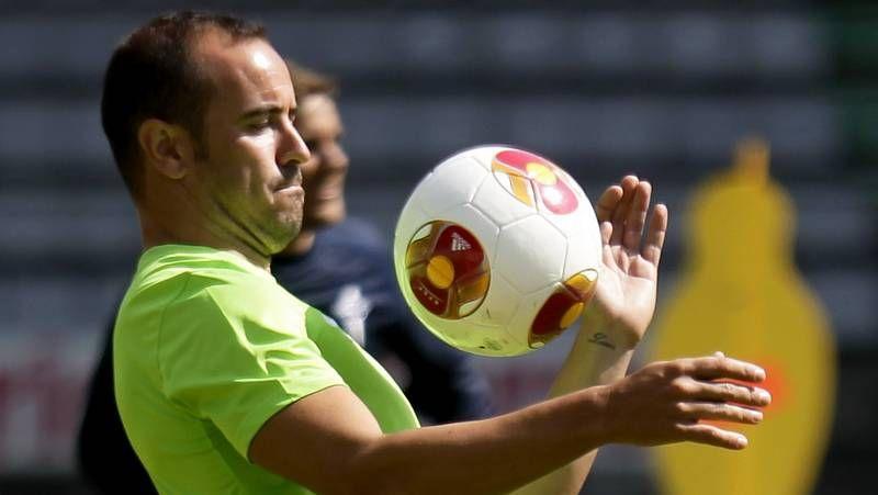 asdf.Thiago Benavides jugó las cuatro últimas temporadas en el Atlético Baleares de Segunda B.