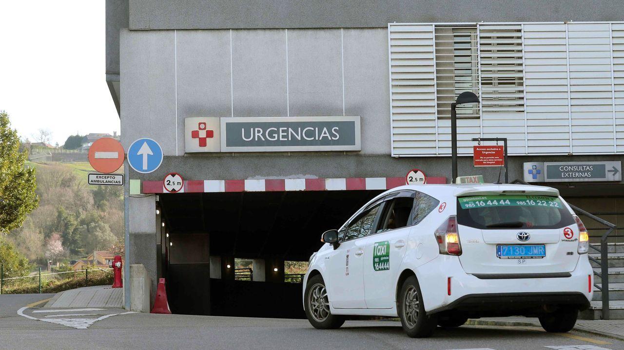 Zona de urgencias del Hospital de Cabueñes