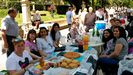 El bollu del Martes de Campo congregó a numerosos comensales que completaron el menú con embutidos, empanadas y tortillas