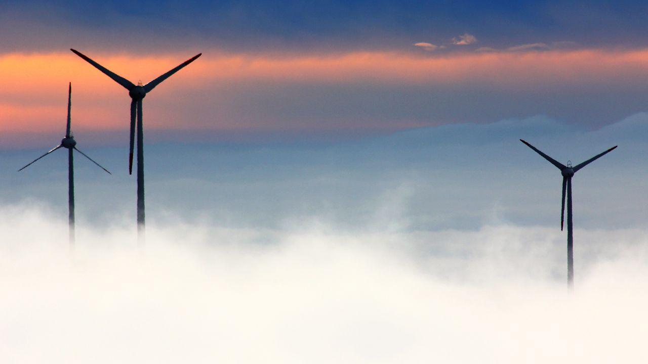 Aerogenerador, aerogeneradores, parque eólico, Asturias, Principado, molinos