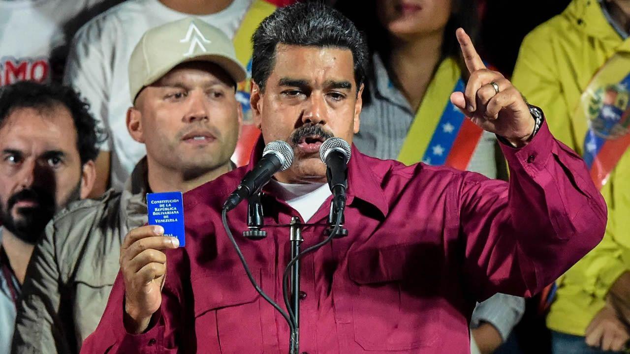 Nicolás Maduro es reelegido presidente de Venezuela con una participación del 46 por ciento