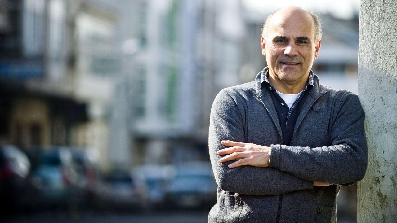 Francisco Bouza Rey, presidente de la Asociación de Comercio y Hostelería Ortegana