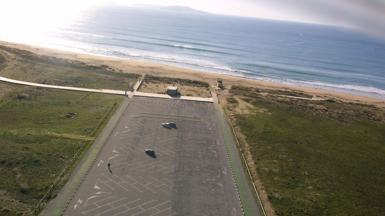 Cribado para detectar el covid-19 en el aeropuerto coruñés de Alvedro
