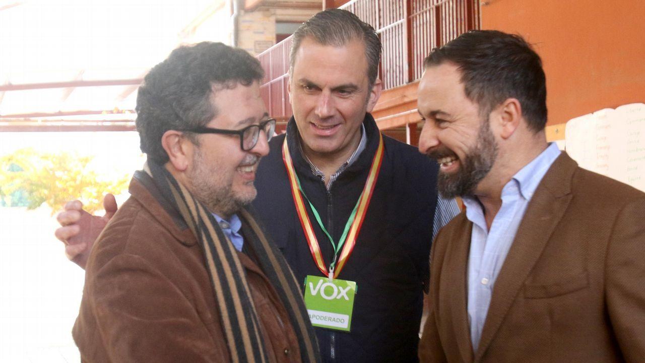 Francisco Abascal, presidente de VOX. Elecciones andaluzas
