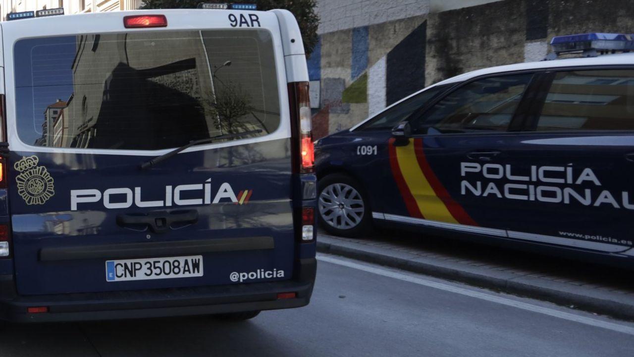 Imagen de archivo de una intervención de la Policía Nacional.