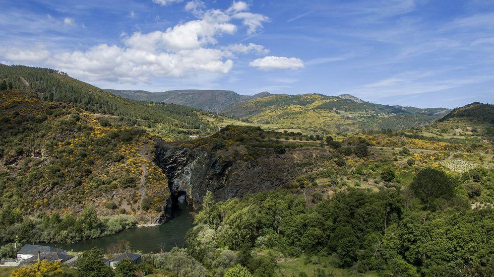 El río Sil y el la Boca do Monte