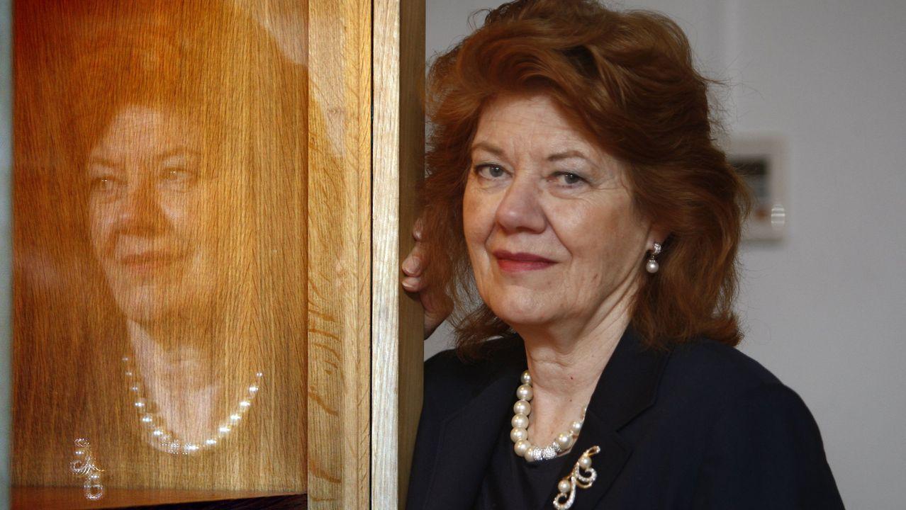 Naufragio delGulf Livestock1.Anne Perry, retratada en Madrid en el año 2008