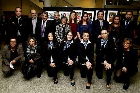 Entrega de los premios Laureus en Río de Janeiro.Imagen de los premiados en la gala celebrada ayer.