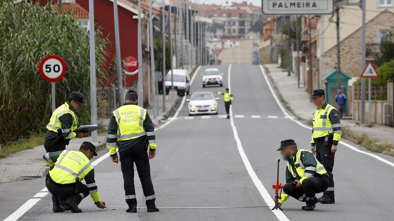 Accidente en Alfonso Molina.SIN TREGUA. El alcohol al volante es el principal problema de tráfico en Galicia, por ello este año estaba previsto realizar en la comunidad más de 800.000 pruebas de alcoholemia
