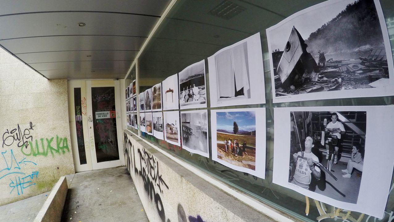 Las fotografías salen al escaparate en el museo de Vigo