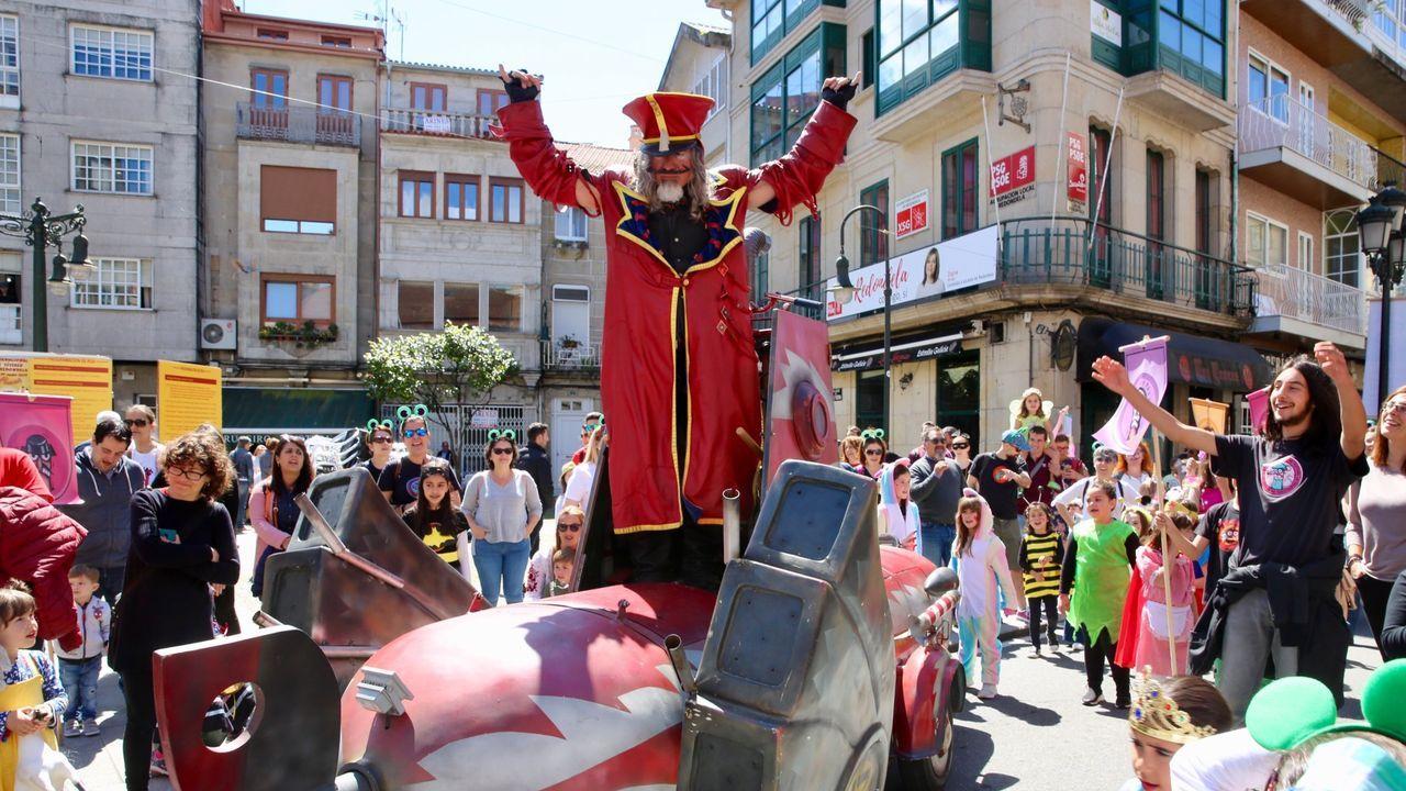 Imagen de archivo del diseñador durante la celebración del enlace de su hijo Roberto con Marta Ortega en A Coruña
