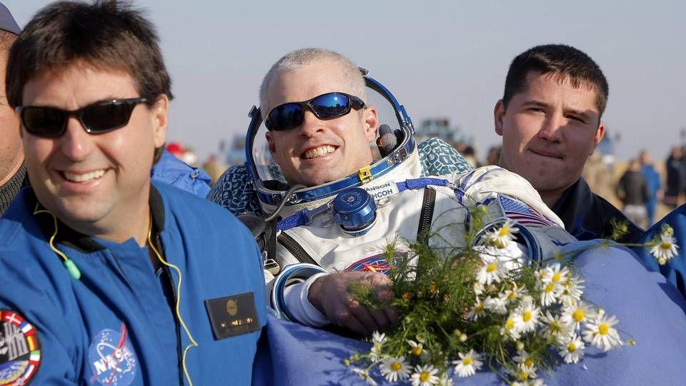 Aterrizaje del Soyuz TMA-12M