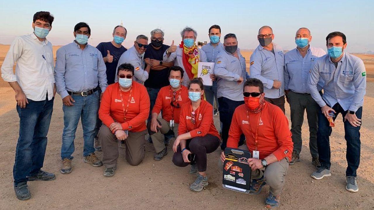 Galería de imágenes Dakar 2021.Imagen ganadora del premio Emilie Poucan a Mejor fotografía del Dakar 2021, en Arabia Saudí