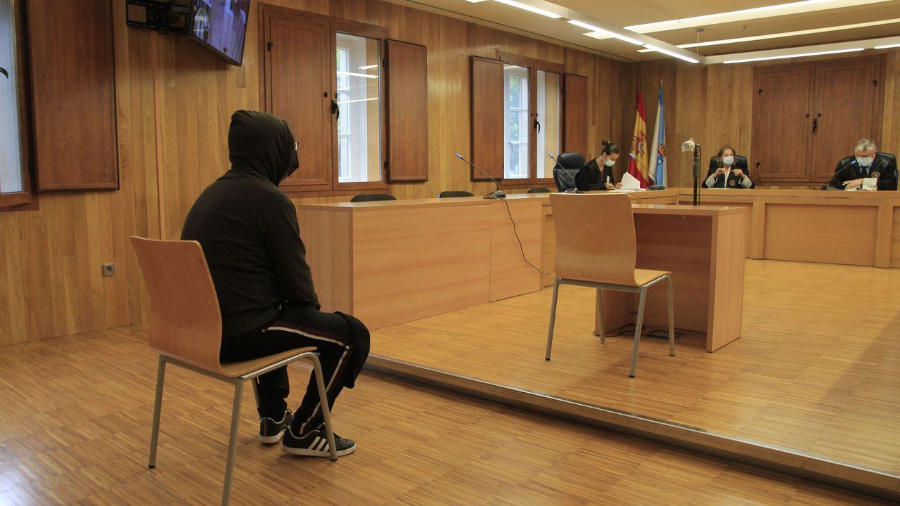 La vista del juicio, en la Audiencia Provincial de Lugo.