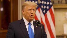 Donald Trump, en una comparecencia reciente