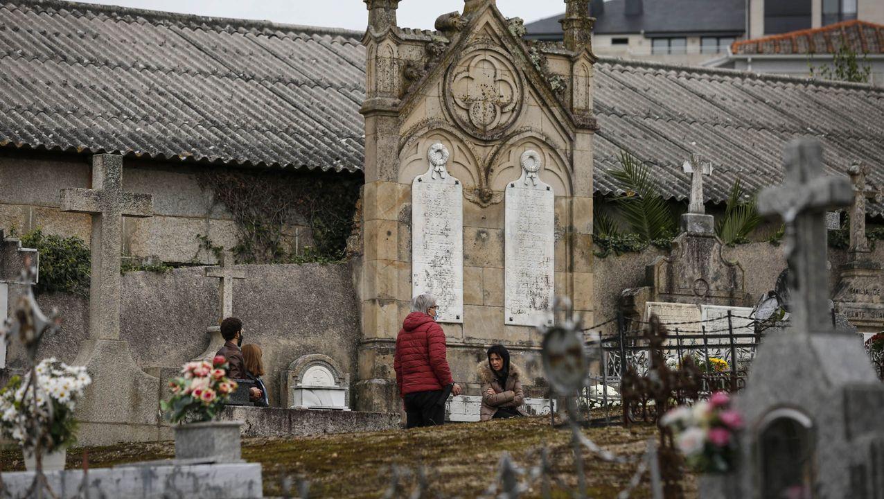 Así fue el Día de Todos los Santos en el cementerio de San Francisco