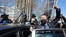 Imagen de archivo de la salida de los juzgados tras su declaración por el caso Neurona de  Monedero