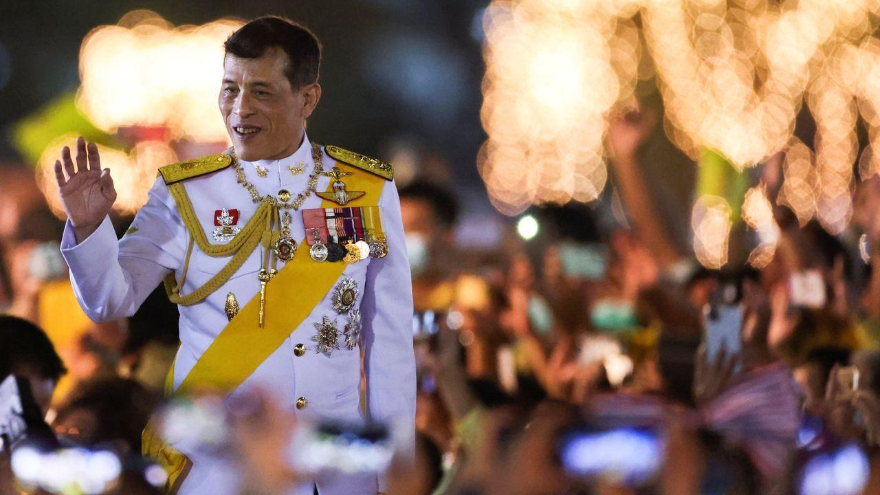 Felipe VI pronuncia su tradicional discurso de Nochebuena.El rey de Tailandia, Maha Vajiralongkorn, el pasado 5 de diciembre, en el palacio real de Bangkok