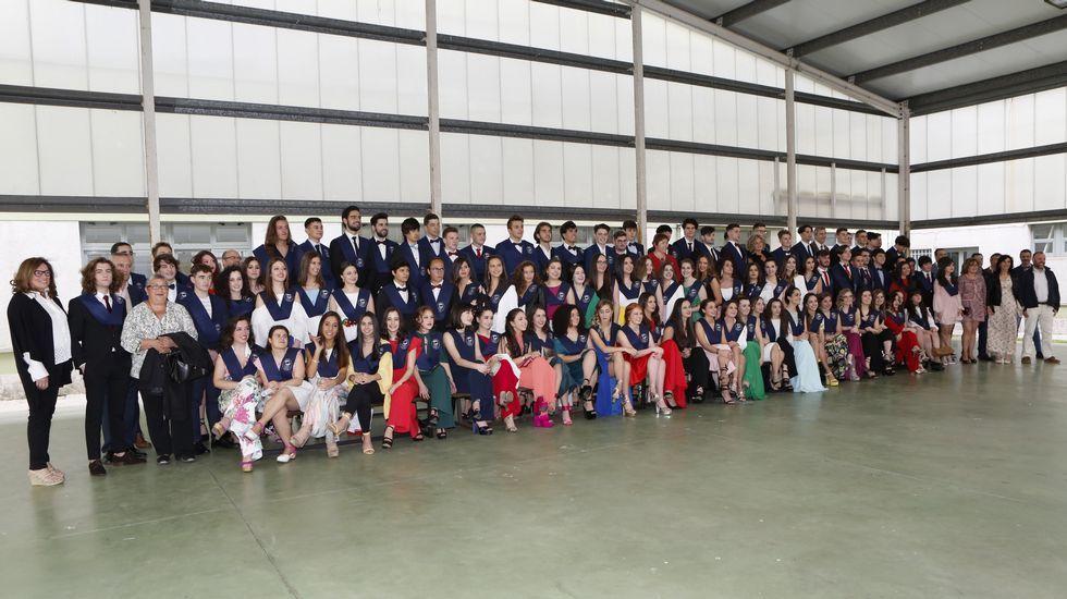 Alumnos y profesores del Alfredo Brañas