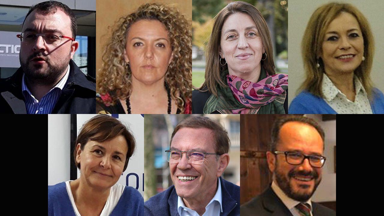 Candidatos a la presidencia del Principado